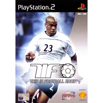This is Football 2003 [PS2, английская версия]