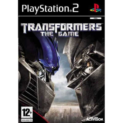 Transformers - The Game [PS2, английская версия]
