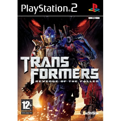 Transformers Revenge of the Fallen [PS2, английская версия]