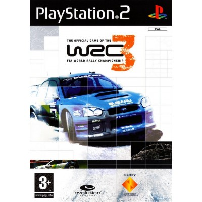 WRC 3 The Official Game of the FIA World Rally Championship [PS2, английская версия]
