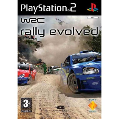 WRC Rally Evolved [PS2, русская версия]