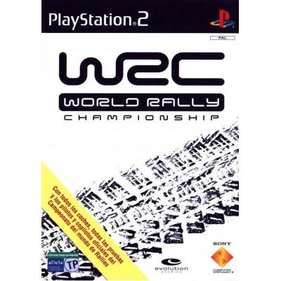 WRC World Rally Championship [PS2, английская версия]