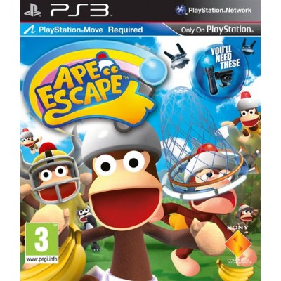 Ape Escape [PS3, русская версия]
