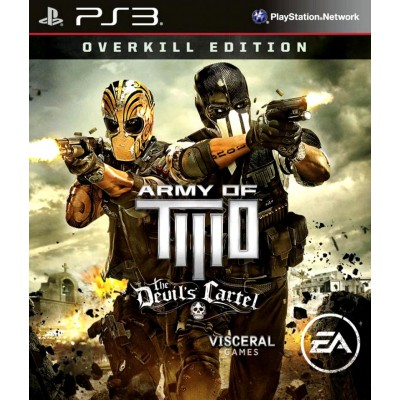 Army of Two Devils Cartel - Overkill Edition [PS3, английская версия]