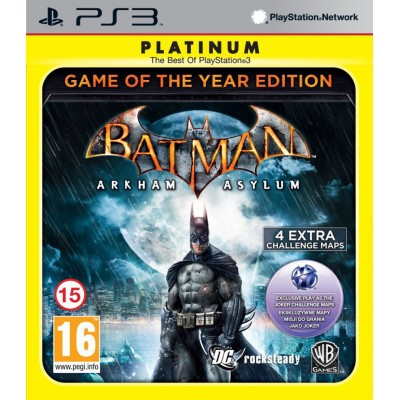 Batman Arkham Asylum - Game of the Year Edition [PS3, английская версия]