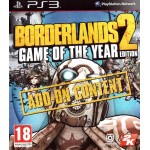 Borderlands 2 Game of the Year Edition Add-on Content [PS3]