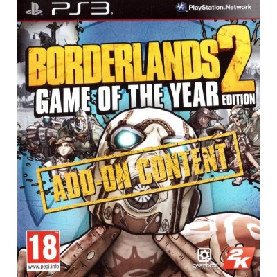Borderlands 2 Game of the Year Edition Add-on Content [PS3, английская версия]