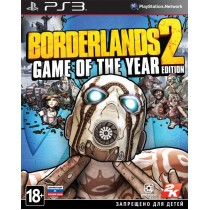 Borderlands 2 Game of the Year Edition [PS3]