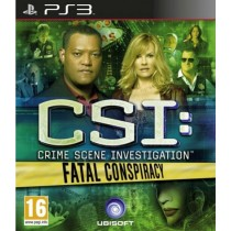 CSI Crime Scene Investigation Fatal Conspiracy [PS3]