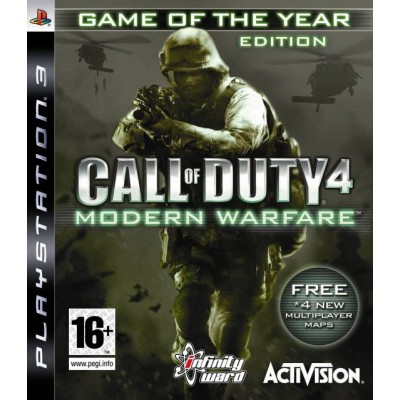 Call of Duty 4 Modern Warfare - Game of the Year Edition [PS3, английская версия]