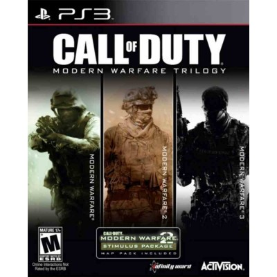 Call of Duty Modern Warfare - Trilogy Collection [PS3, английская версия]