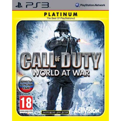 Call of Duty World at War [PS3, русская версия]