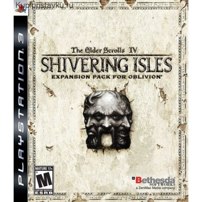 The Elder Scroll IV Shivering Isles Expansion Pack for Oblivion [PS3, английская версия]