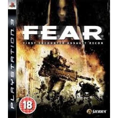 F.E.A.R. (FEAR) [PS3, английская версия]