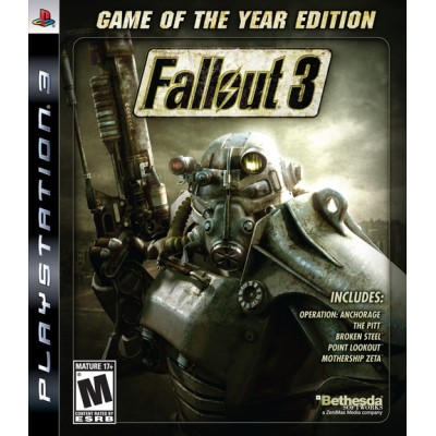 Fallout 3 Game Of The Year Edition [PS3, английская версия]