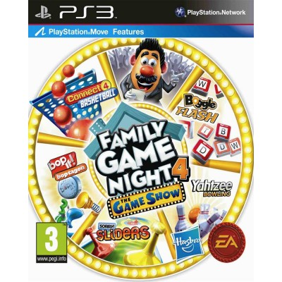 Family Game Night 4 - The Game Show [PS3, английская версия]