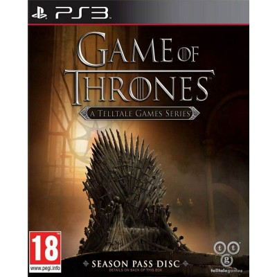 Game of Thrones - A Telltale Games Series - Season Pass Disk [PS3, русские субтитры]