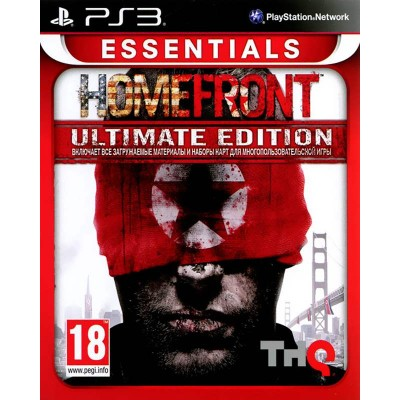Homefront - Ultimate Edition [PS3, русская версия]