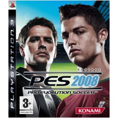 Pro Evolution Soccer PES 2008 [PS3, английская версия]