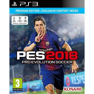 Pro Evolution Soccer (PES) 2018 - Premium Edition [PS3, русские субтитры]