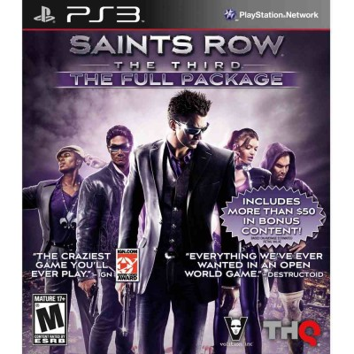 Saints Row The Third - The Full Package [PS3, русские субтитры]
