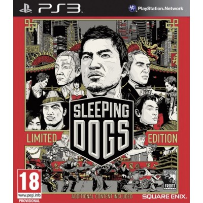 Sleeping Dogs - Limited Edition [PS3, русские субтиты]