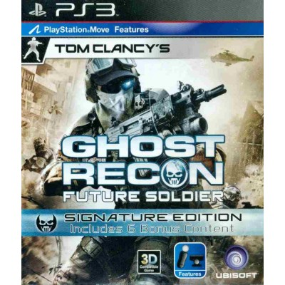 Tom Clancys Ghost Recon Future Soldier - Signature Edition [PS3, русская версия]