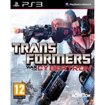 Transformers War for Cybertron [PS3, английская версия]