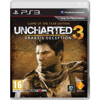 Uncharted 3 Drakes Deception Game of the Year Edition [PS3, английская версия]