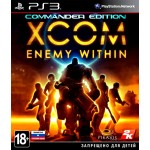 XCOM Enemy Within Commander Edition [PS3]