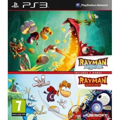 """Комплект игр """"Rayman Origins"""" и """"Rayman Legends"""" [PS3, английская версия]"""