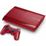 Sony PlayStation 3 CECH-4008c [Red, 500 Gb]
