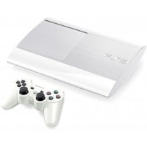 Sony PlayStation 3 CECH-4008c [White, 500 Gb]