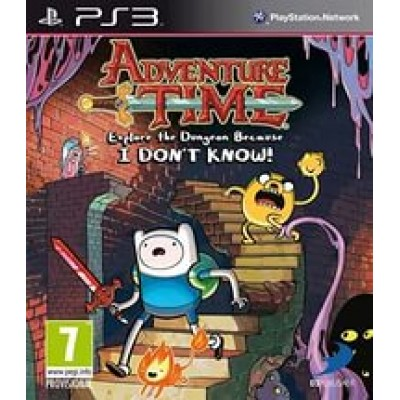 Adventure Time Explore the Dungeon Because I Dont Know! [PS3, английская версия]