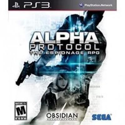Alpha Protocol [PS3, английская версия]