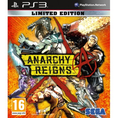 Anarchy Reigns - Limited Edition [PS3, английская версия]