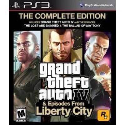 Grand Theft Auto IV + Episodes from Liberty City [PS3, английская версия]