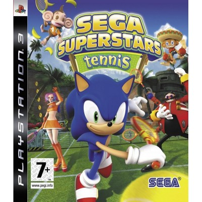 Sega Superstars Tennis [PS3, английская версия]