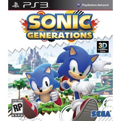 Sonic Generations [PS3, английская версия]