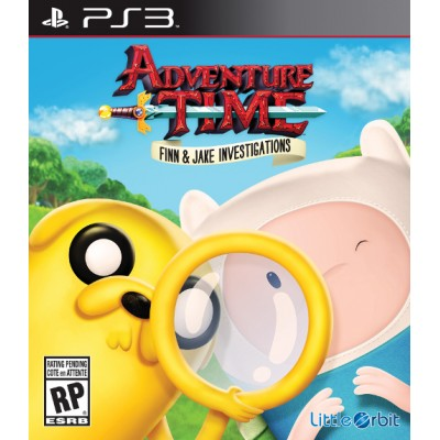 Adventure Time Finn and Jake Investigations [PS3, английская версия]