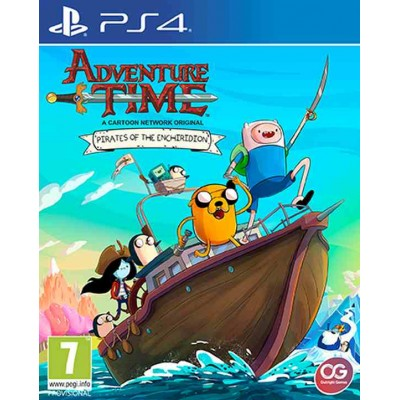 Adventure Time Pirates of the Enchiridion [PS4, английская версия]
