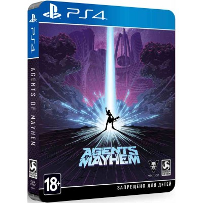 Agents of Mayhem - Steelbook Edition [PS4, русские субтитры]