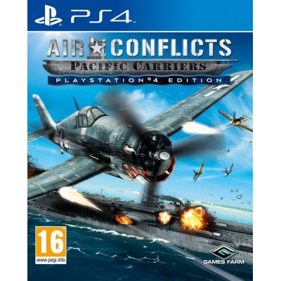Air Conflict: Pacific Carriers - PlayStation 4 Edition [PS4, русские субтитры]
