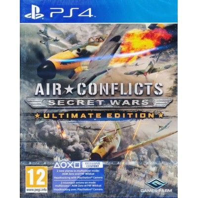 Air Conflict Secret Wars - Ultimate Edition [PS4, английская версия]