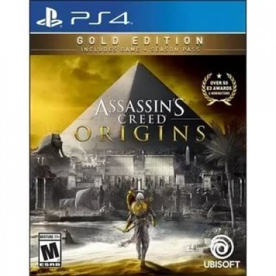 Assassins Creed Истоки (Origins) - Gold Edition [PS4, русская версия]