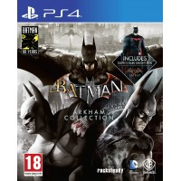 Batman Arkham Collection (Steelbook) [PS4]