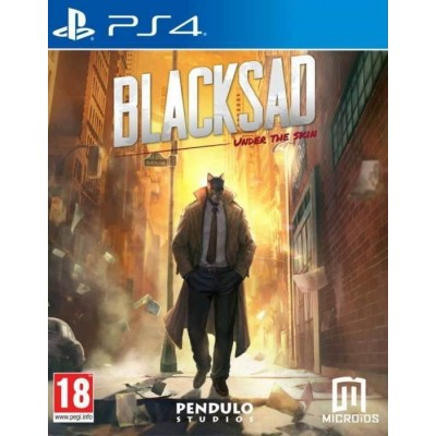Blacksad Under The Skin - Limited Edition [PS4, русская версия]