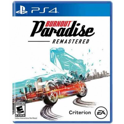 Burnout Paradise Remastered [PS4, русская версия]