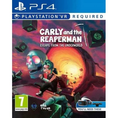 Carly and the Reaperman - Escape from the Underworld (только для VR) [PS4, английская версия]