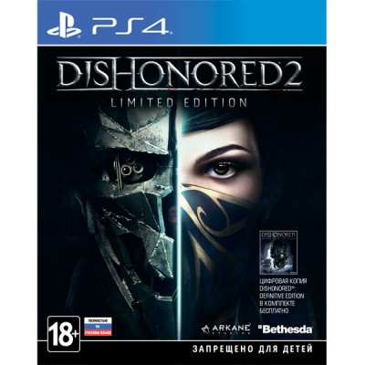 Dishonored 2 Limited Edition [PS4, русская версия]